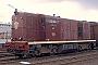 """Alsthom ohne Nummer - NS """"2505"""" 27.01.1980 - Maastricht, WerkplaatsMartin Welzel"""