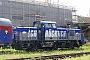 """Alstom H3-00021 - Talgo """"90 80 1002 021-6 D-ALS"""" 03.05.2018 - Berlin-Friedrichshain, S-Bahnhof Warschauer StraßeHinnerk Stradtmann"""