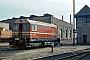 """ČKD 5090 - Zementwerk Karsdorf """"010"""" 08.05.1981 - Halle (Saale), Bahnbetriebswerk Halle GKlaus Pollmächer [†]"""