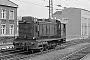 """Deutz 39628 - DB """"236 222-6"""" 11.04.1970 - Hannover, HauptbahnhofRichard Schulz (Archiv Christoph und Burkhard Beyer)"""