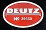 """Deutz 39659 - VVM """"V 20 039"""" 10.02.2019 - Schönberg (Holstein)-Schönberger StrandTomke Scheel"""