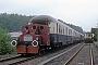 """Deutz 55203 - EF Olpe """"327 001-4"""" 12.05.1990 - Olpe, BahnhofArchiv Ingmar Weidig"""