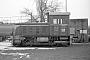 """Deutz 56198 - RLG """"D 56"""" 12.02.1981 - Lippstadt, Bahnbetriebswerk Stirper StraßeChristoph Beyer"""