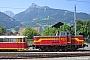 """Deutz 56216 - MBS """"V 10.016"""" 28.07.2005 - Schruns, BahnhofArchiv Ingmar Weidig"""