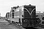 """Deutz 56594 - WLE """"VL 0631"""" 21.10.1979 - Lippstadt, Bahnbetriebswerk Stirper StraßeMichael Hafenrichter"""