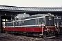 """Deutz 56595 - WLE """"VL 0632"""" 13.04.1969 - Lippstadt, BahnbetriebswerkPeter Driesch [†] (Archiv Michael Hafenrichter)"""
