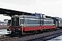 """Deutz 56596 - WLE """"VL 0633"""" 13.04.1969 - Soest, BahnhofPeter Driesch [†] (Archiv Michael Hafenrichter)"""