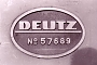 """Deutz 57689 - AKN """"V 2.012"""" 30.03.1983 - Neumünster-SüdMichael Vogel"""