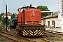 """Deutz 57877 - KNE """"V 167"""" 07.07.1984 - Naumburg, BahnhofAndreas Böttger"""