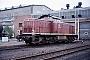 """Deutz 58125 - DB """"290 061-1"""" 14.05.1986 - Bremen, AusbesserungswerkNorbert Lippek"""