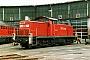 """Deutz 58128 - DB Cargo """"290 064-5"""" 27.05.2001 - Saalfeld, BetriebshofDaniel Berg"""