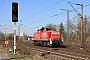 """Deutz 58131 - DB Schenker """"290 567-7"""" 28.03.2011 - Leipzig-TheklaDaniel Berg"""