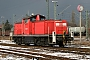 """Deutz 58321 - Railion """"290 091-8"""" 20.02.2005 - Mannheim, WerkErnst Lauer"""