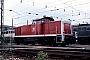 """Deutz 58321 - DB """"290 091-8"""" 12.07.1987 - Mannheim, BahnbetriebswerkErnst Lauer"""