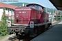 """Deutz 58350 - DB """"290 180-9"""" 14.08.1993 - Waldshut, BahnhofNorbert Schmitz"""