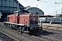 "Deutz 58356 - DB ""290 186-6"" 15.04.1976 - Bremen, HauptbahnhofNorbert Lippek"