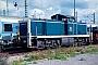 """Deutz 58359 - DB """"290 189-0"""" 05.09.1993 - Karlsruhe, BahnbetriebswerkErnst Lauer"""