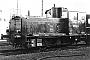 """DWK 644 - DB """"270 052-4"""" 11.03.1976 - Ludwigshafen, BahnbetriebswerkHarald S."""