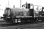 "DWK 644 - DB ""270 052-4"" 11.03.1976 - Ludwigshafen, BahnbetriebswerkHarald Belz"