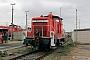 """Esslingen 5272 - DB Cargo """"363 044-9"""" 23.12.2018 - Mannheim, BetriebshofErnst Lauer"""