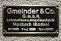 """Gmeinder 5041 - DB Cargo """"360 023-6"""" 08.10.2016 - -Marco Kozinowski"""