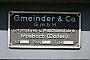 """Gmeinder 5539 - InfraServ """"1"""" 29.052011 - MarnheimFrank Glaubitz"""
