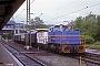 "Gmeinder 5647 - SWEG""V 102"" 22.06.1990 - Freiburg(Breisgau), HauptbahnhofIngmar Weidig"