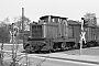"""Henschel 25941 - MKB """"V 14"""" 11.04.1979 - Minden (Westfalen), Bahnhof Minden Friedrich-Wilhelm-StraßeDietrich Bothe"""