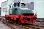 """Henschel 26128 - WLH """"52"""" __.__.1995 - Neuss, beim Bahnbetriebswerk der Neusser Eisenbahn (Mieteinsatz)Patrick Paulsen"""