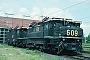 """Henschel 28864 - Rheinbraun """"609"""" 26.05.1995 - Grefrath, Rheinbraun-HauptwerkstattHelge Deutgen"""