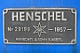 """Henschel 29199 - Südzucker """"9"""" 10.12.2004 - RegensburgAnton Englbrecht"""