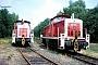 """Henschel 30037 - DB Cargo """"364 748-4"""" 01.08.1999 - Sande, BahnhofRalf Lauer"""
