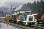 "Henschel 30038 - BLS ""Em 3/3"" 23.03.1990 - Kandersteg, BahnhofIngmar Weidig"