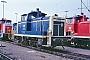 """Henschel 30082 - DB """"360 793-4"""" 30.09.1990 - Mannheim, BahnbetriebswerkErnst Lauer"""