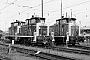"""Henschel 30109 - DB AG """"365 820-0"""" 15.08.1998 - Dortmund, Bahnbetriebswerk BbfMalte Werning"""