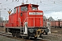 """Henschel 30113 - DB Schenker """"363 824-4"""" 14.01.2012 - Paderborn, HauptbahnhofMarkus Rüther"""
