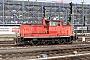 """Henschel 30120 - TrainLog """"363 831-9"""" 06.03.2018 - Mannheim HauptbahnhofErnst Lauer"""