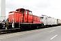 """Henschel 30120 - TrainLog """"363 831-9"""" 01.05.2018 - Mannheim, HafenErnst Lauer"""