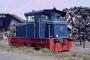 Henschel 31108 - Rolanfer 28.07.1996 - Uckange, HafenFrank Glaubitz