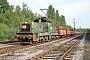 """Henschel 31338 - RBH Logistics """"022"""" 28.07.2008 - Bottrop, RAG-Betriebsbahnhof RheinbabenKlaus Linek"""