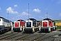 """Henschel 31534 - DB """"290 257-5"""" 11.06.1989 - Aachen, Bahnbetriebswerk Aachen WestWerner Schwan"""
