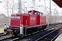 """Henschel 31535 - DB Cargo """"294 258-9"""" 21.02.2003 - Düsseldorf, Bahnhof VolksgartenWolfgang Platz"""
