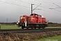 """Henschel 31535 - DB Schenker """"294 758-8"""" 23.02.2016 - Ossum-Bösinghoven, km 46,6Martin Welzel"""