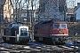 "Henschel 31588 - DB ""290 319-3"" 24.02.1991 - Bebra, BahnbetriebswerkIngmar Weidig"