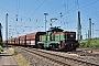 """Henschel 32828 - RBH Logistics """"016"""" 03.06.2011 - Oberhausen, Stellwerk MathildeDirk Bremen"""