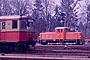"""Jung 12838 - BVG """"5074"""" 27.02.1985 - Berlin-Wannsee, S-Bahn-BetriebswerkGerd Bembnista (Archiv Beller)"""