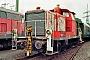 """Krauss-Maffei 18634 - TrainLog """"260 872-7"""" 03.10.2019 - Mannheim-Friedrichsfeld, HEMSteffen Hartz"""