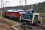 """Krauss-Maffei 18634 - TrainLog """"260 872-7"""" 02.01.2021 - Mannheim-Friedrichsfeld, HEMHarald Belz"""