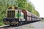 """Krauss-Maffei 19293 - Rhenus Rail """"9"""" 09.05.2008 - Völklingen-Ludweiler, Lager VelsenKlaus Linek"""