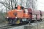 """Krauss-Maffei 19681 - RBH Logistics """"573"""" 17.03.2011 - Recklinghausen, Bahnübergang WannerstraßeAndreas Steinhoff"""